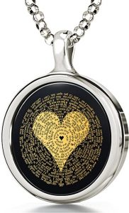 24k gold says I love you in 120 languages