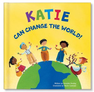 I Can Change The World Personalized Name Book
